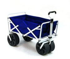 Folding and Collapsible Wagon – Blue