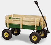 John Deere Green Wagon