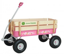 John Deere Pink Toy Wagon For Girls